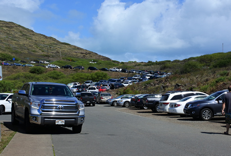 0905 makapuu parking area