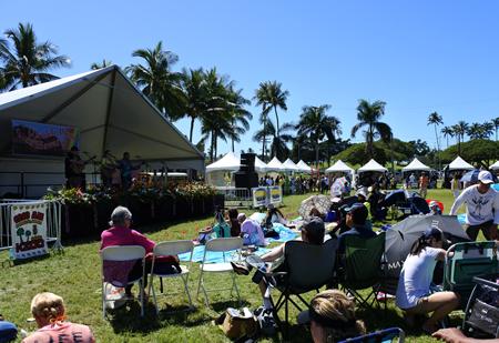 0212 ukulele picnic stage